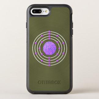 Titanium Atom with Background OtterBox Symmetry iPhone 8 Plus/7 Plus Case