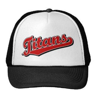 Titans in Red Cap