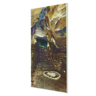 Titan's Temple Balcony View of the Bridal Canvas Print