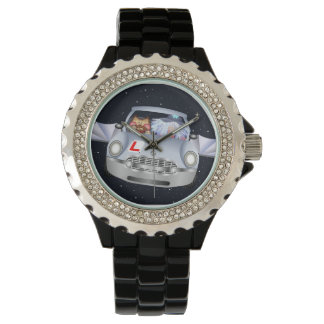 Titchy Witchy flying car watch