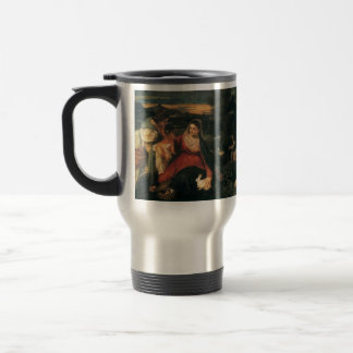 Titian- Madonna, Child, St. Catherine & a Rabbit Mugs