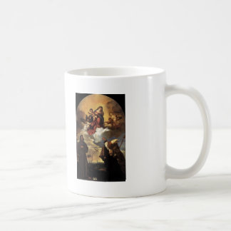 Titian- Madonna in Glory with the Christ Child Mug