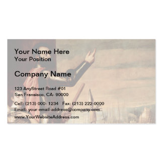 Titian- Marchese del Vasto Addressing his Troops Business Cards