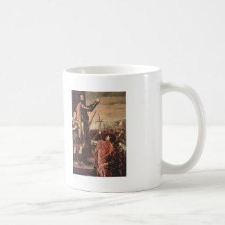 Titian- Marchese del Vasto Addressing his Troops Coffee Mug