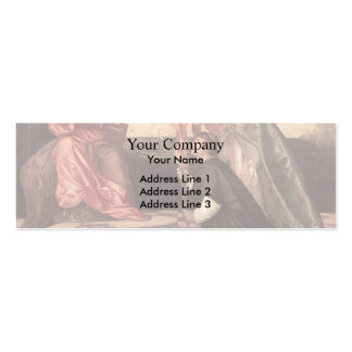 Titian Pope Alexander IV Presenting Jacopo Pesaro Business Cards