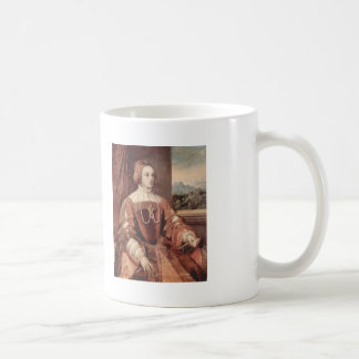Titian- Portrait of Isabella of Portugal Mugs