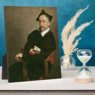 """""""Titian's Schoolmaster"""", c. 1575 Plaque"""