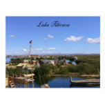 titicaca floating village post cards