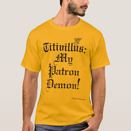 Titivillus: Patron Demon (Light Shirts) T-Shirt