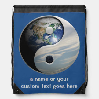 Title Goes Here Drawstring Bag