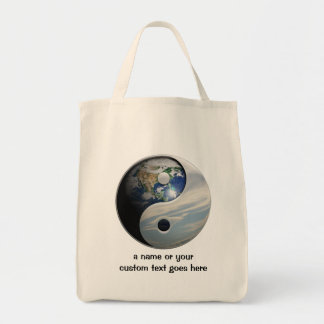 Title Goes Here Grocery Tote Bag
