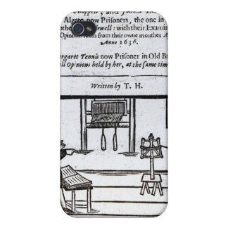 Title Page 'A True Discourse of the Two�' iPhone 4 Cover