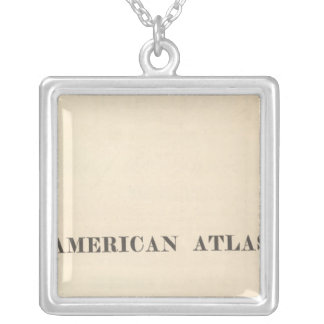 Title Page American Atlas Silver Plated Necklace