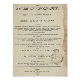Title Page American geography Poster