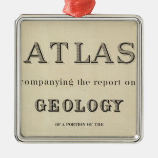 Title Page Atlas accompanying the report Christmas Ornament