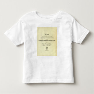 Title Page Atlas California earthquake Toddler T-Shirt