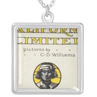 Title Page California Limited Silver Plated Necklace