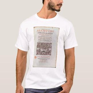 Title Page from 'Abbatis Karoli Magni Regis' T-Shirt