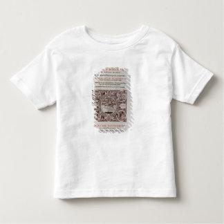 Title Page from 'Abbatis Karoli Magni Regis' Toddler T-Shirt