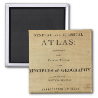 Title Page General & classical atlas Magnet
