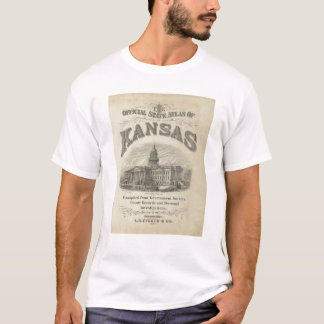 Title Page Kansas Official State Atlas T-Shirt