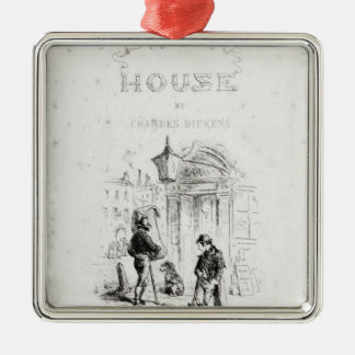 Title page of 'Bleak House' Christmas Ornament