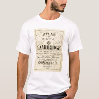 Title Page of Cambridge Atlas T-Shirt