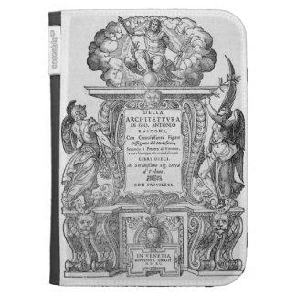 Title Page of 'Della Architettura', published 1590 Kindle Cover