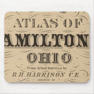 Title Page of Hamilton County Atlas Mouse Mat