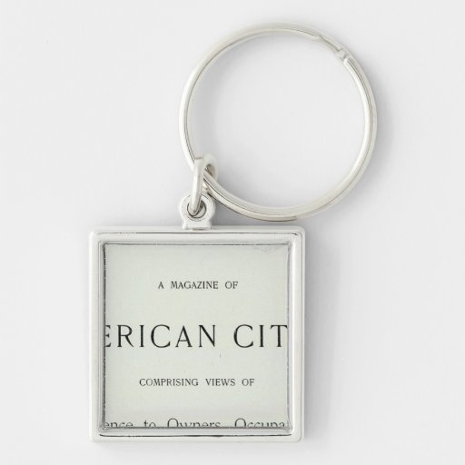 Title Page of San Francisco California Key Chain