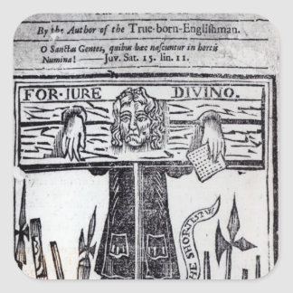 Title-page of the first book of 'Jure Square Sticker