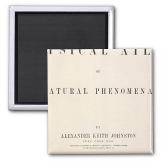 Title Page Physical atlas of natural phenomena Magnet
