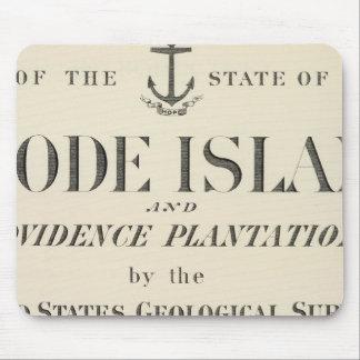 Title Page Rhode Island atlas Mouse Mat