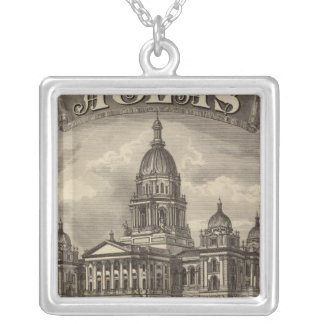 Title Page Silver Plated Necklace