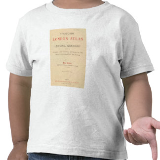 Title Page Stanford s London atlas T Shirts