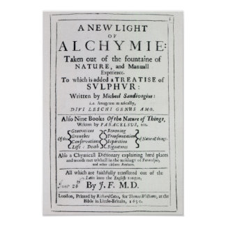 Title page to the English edition Poster