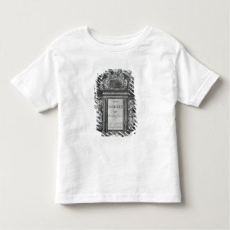 Title page to 'The Works of Benjamin Jonson' Toddler T-Shirt