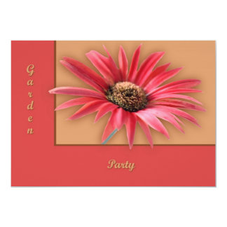 Titled Daisy 5x7 Paper Invitation Card