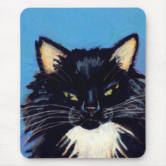 Titled:  Grumpus Needs More Snuggle Time CAT ART Mouse Mat