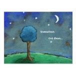 Titled: Starry Starry Night Postcard Art Card