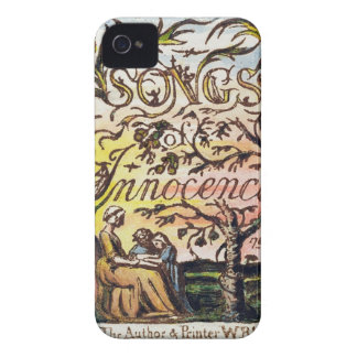 Titlepage from 'Songs of Innocence and of Experien iPhone 4 Covers