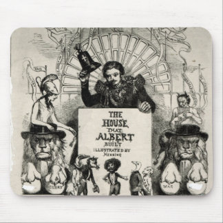 Titlepage from 'The House that Albert Built' Mouse Mat