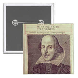 Titlepage of 'Mr. William Shakespeares 15 Cm Square Badge