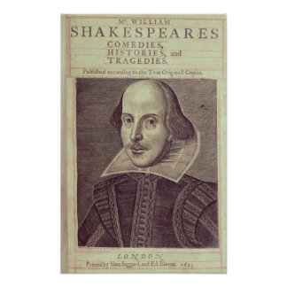 Titlepage of 'Mr. William Shakespeares Poster