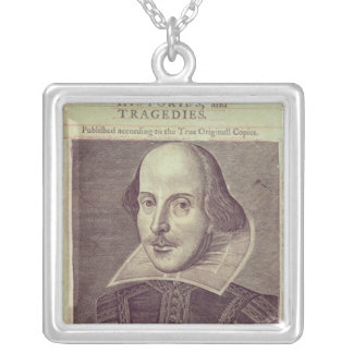 Titlepage of 'Mr. William Shakespeares Silver Plated Necklace
