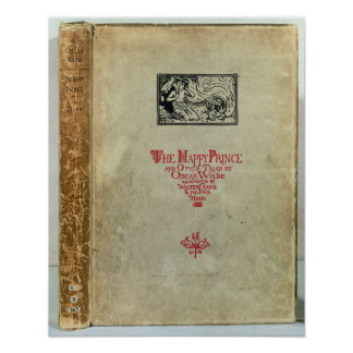 Titlepage of 'The Happy Prince and other Tales' Poster