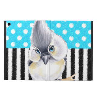 Titmouse Blue Polka Dot iPad Air Cover