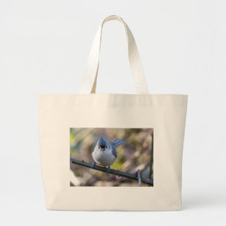 Titmouse Jumbo Tote Bag