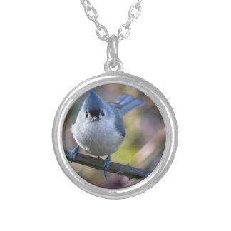 Titmouse Round Pendant Necklace