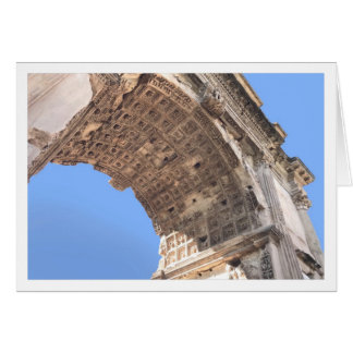 Titus Arch Greeting Card